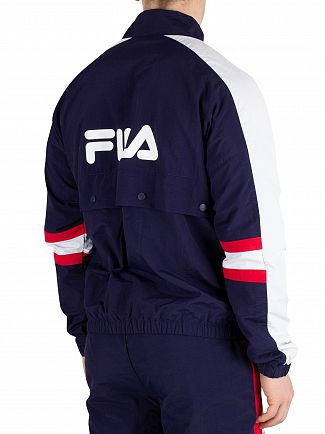Fila Peacoat Carter Colour Block Track Jacket