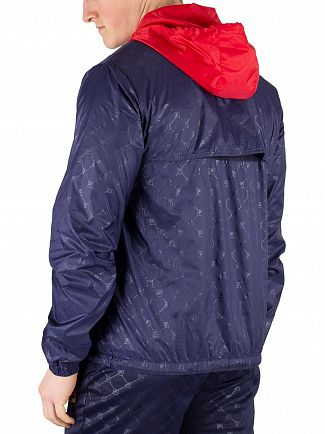 Fila Peacoat/Red Copper Patterned Jacket