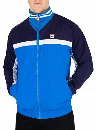 Fila Vintage Directoire Blue/Peacoat/White Diego Panelled Track Jacket