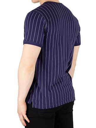 Fila Peacoat/White Guilo Stripe T-Shirt