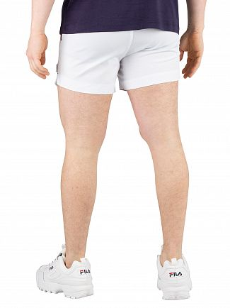 Fila White/Peacoat/Chinese Red Hightide Terry Pocket Stripe Sweatshorts