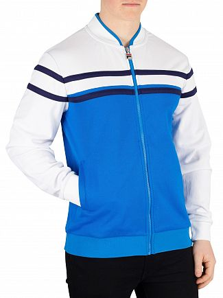 Fila Directoire Blue/White/Peacoat Naso Chest Stripe Track Jacket