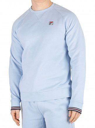Fila Vintage Cashmere Blue Pozzi Sweatshirt