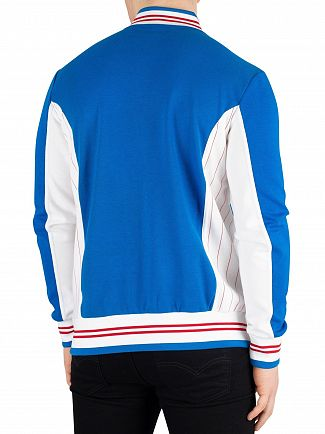Fila Vintage Directoire Blue/White Settanta Track Jacket