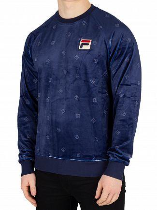 Fila Vintage Peacoat Tallis Sweatshirt