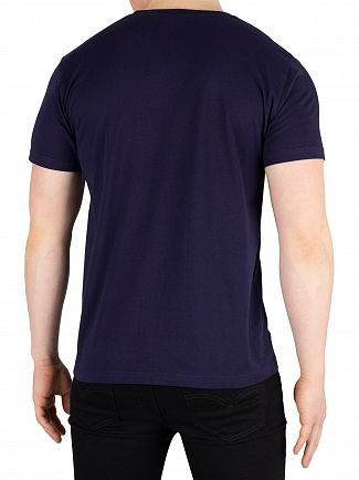 Gant Evening Blue Shield Logo T-Shirt
