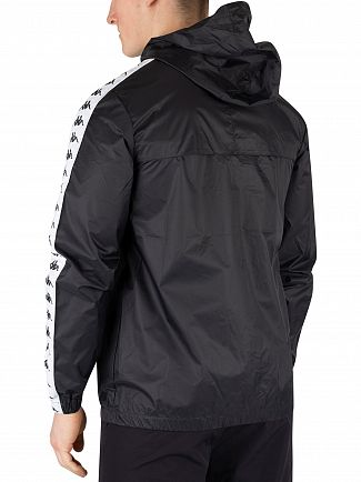 Kappa Black/White 222 Banda Dawson Jacket