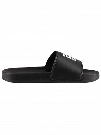 Kappa Black/White Authentic Adam 3 Sliders