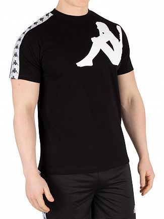 Kappa Black/White Authentic Buys T-Shirt