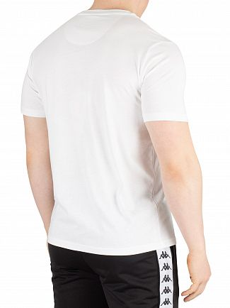 Kappa White Authentic Estessi T-Shirt