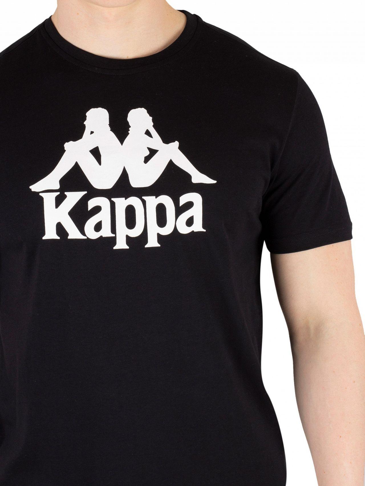c31190ae5f Kappa Black Authentic Estessi T-Shirt