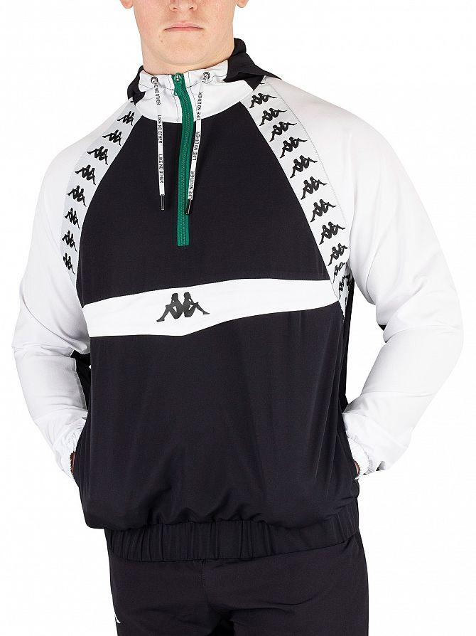 Kappa Black/White Bakit Authentic Jacket