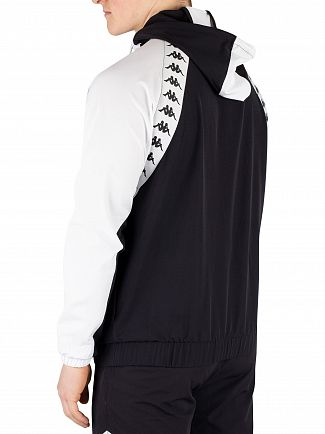 Kappa Black/White Bakit Authentic Jacket