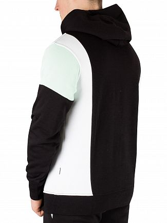 Nicce London Black/Mint Alta Pullover Hoodie