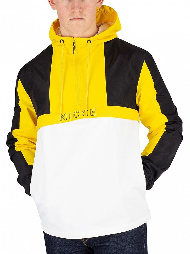 Nicce London Black/Vibrant Yellow Byron Jacket