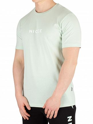Nicce London Mint Centre Logo T-Shirt