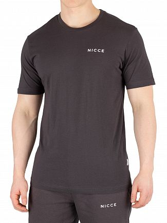Nicce London Coal Chest Logo T-Shirt