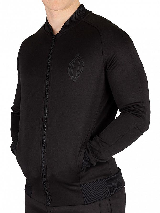 Religion Black Match Bomber Jacket