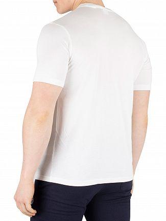 Sergio Tacchini White/Navy Daiocco T-Shirt