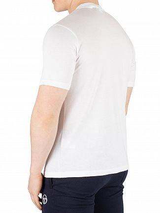 Sergio Tacchini White/Navy Iberis T-Shirt