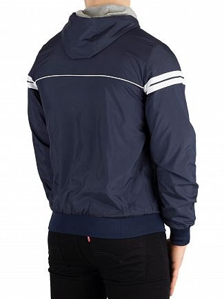 Sergio Tacchini Navy/White Orion Light Hooded Jacket