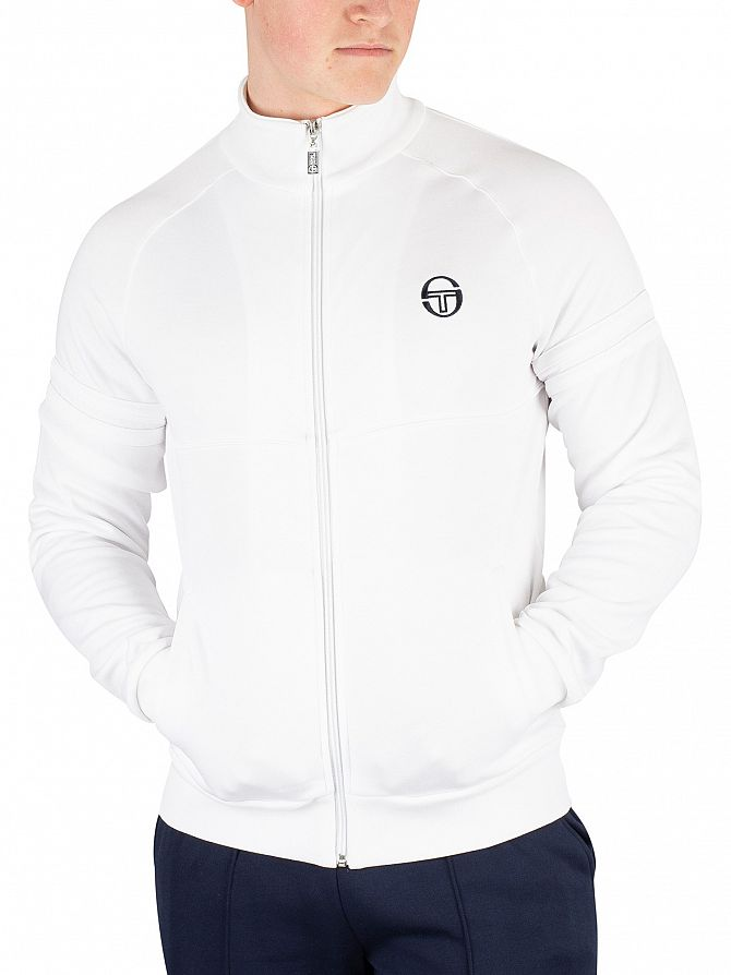 Sergio Tacchini White Orion Track Top