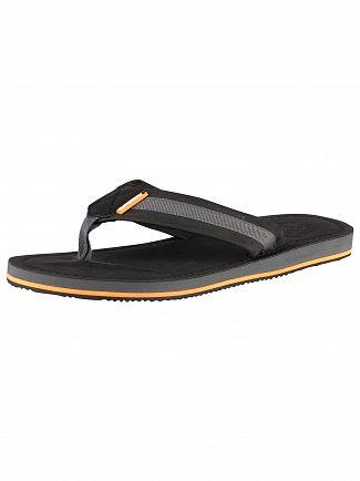 Superdry Black/Charcoal Cove 2.0 Flip Flops