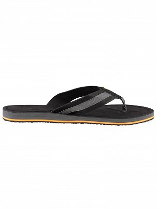 Superdry Black/Charcoal Cove 2.0 Flip Flops