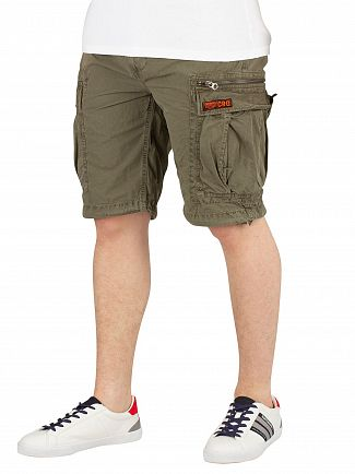 Superdry Sage Ripstop Parachute Cargo Shorts