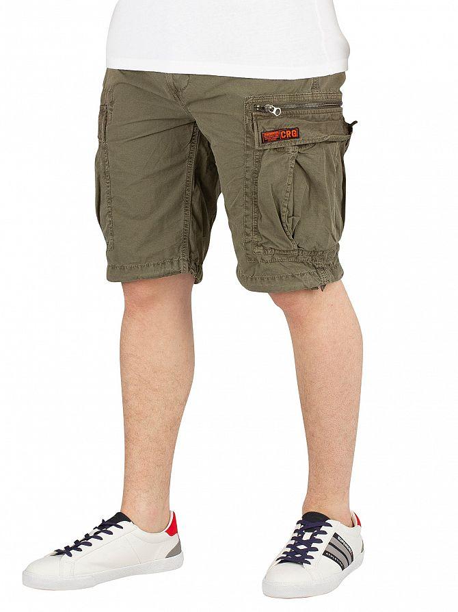 Superdry Sage Ripstop Parachute Cargo Shorts