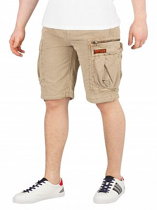 Superdry Sand Ripstop Parachute Cargo Shorts