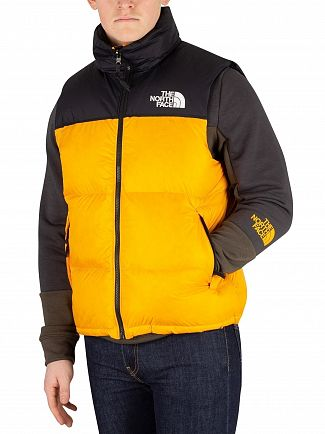 The North Face Zinnia Orange 1996 Retro Nimbus Gilet