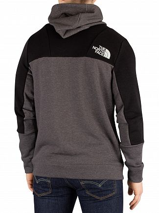The North Face Medium Grey Heather Mountain Lite Full Zip Hoodie