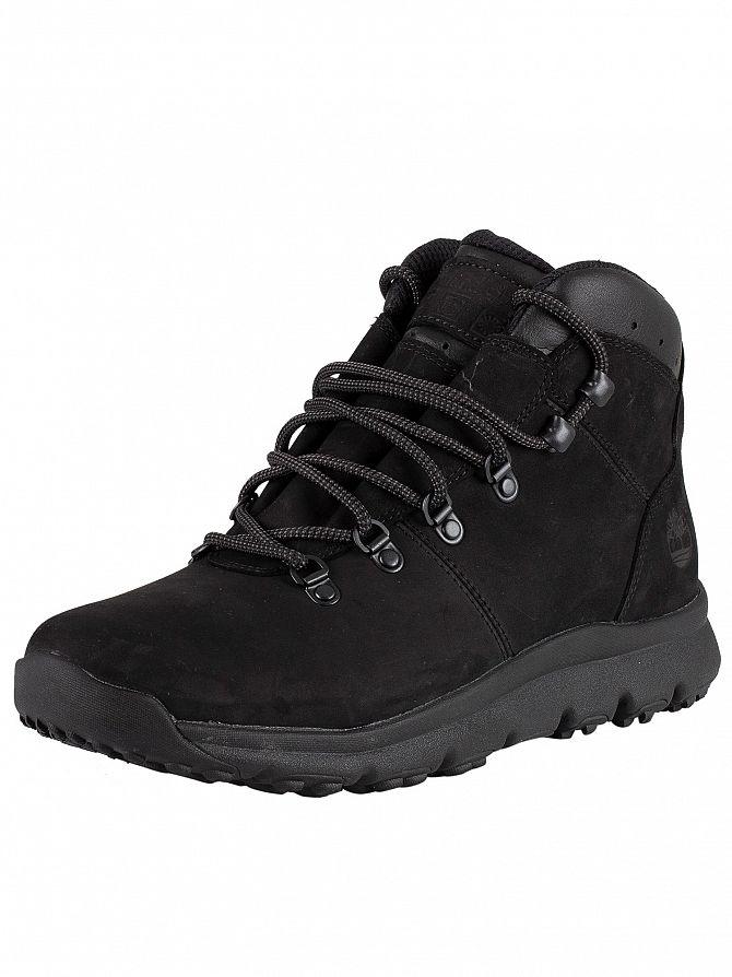 Timberland Blackout Nubuck World Hiker Leather Boots