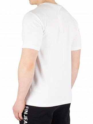 Calvin Klein Jeans Bright White/Black Box Logo T-Shirt