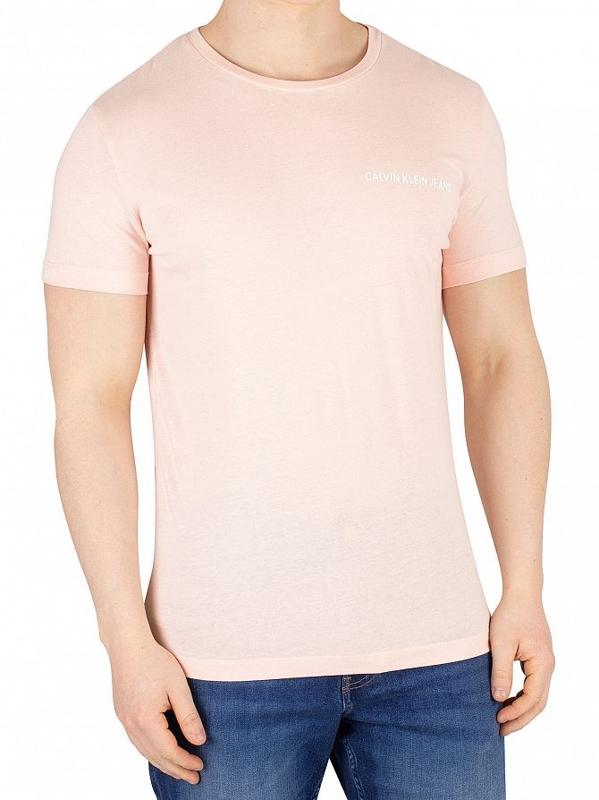 Calvin Klein Jeans Strawberry Cream Chest Institutional T-Shirt