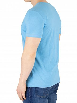 Calvin Klein Jeans Alaskan Blue Chest Institutional T-Shirt