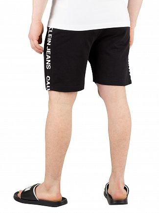 Calvin Klein Jeans Black Side Institutional Sweatshorts