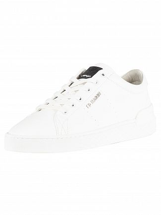Ed Hardy White Pure Low Trainers