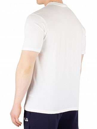 Fila White Curtis Pocket T-Shirt