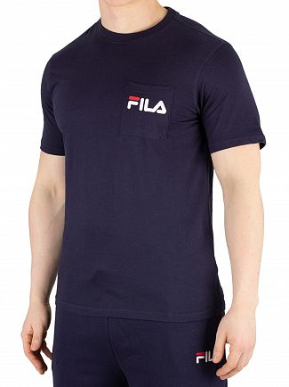 Fila Peacoat Curtis Pocket T-Shirt
