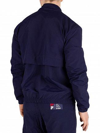 Fila Vintage Peacoat Dani Largo Logo Track Jacket