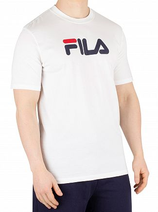 Fila Vintage White Eagle Graphic T-Shirt