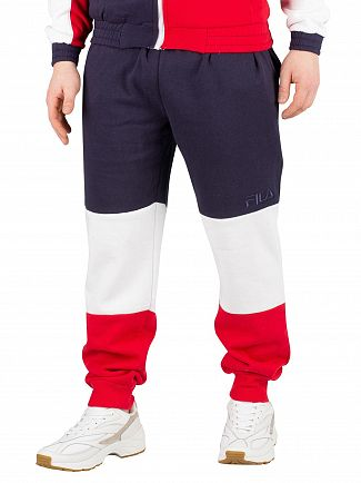 Fila Peacoat Hank Colour Block Joggers