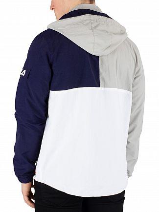 Fila Vintage Highrise Parallax Half Zip Jacket