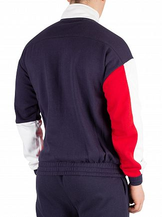 Fila Peacoat Roland Colour Block Track Top
