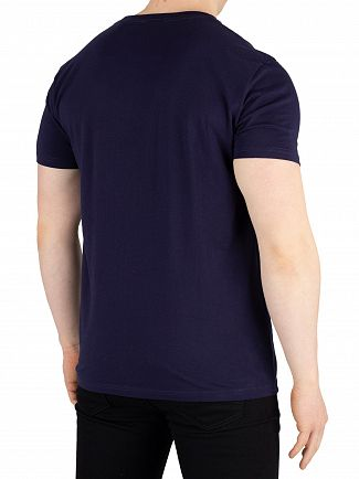 Gant Evening Blue Graphic T-Shirt