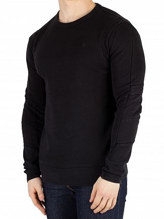 G-Star Dark Black Motac-X Slim Fit Sweatshirt