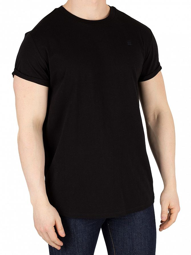 G-Star Dark Black Shelo Relaxed Fit T-Shirt
