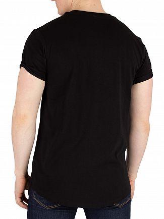 G-Star Dark Black Shelo Relaxed Fit T-Shirt